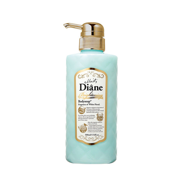 Moist Diane Body Soap Brightening White Floral Aroma 500ML 花香超滋润沐浴露(木兰花香味)