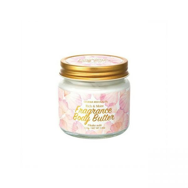 OHANA mahaalo. Rich & Moist Fragrance Body Butter [ Pikake aulii ] 110g