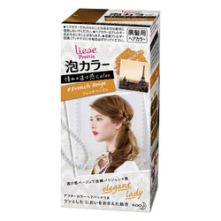 KAO Liese Prettia Bubble Foaming Hair Color Kit - Foreigner Series #French Beige