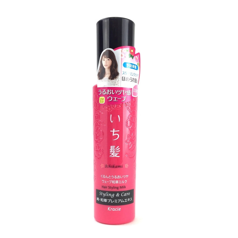 Ichikami Hair Styling Water for Moist and Glossy Waves