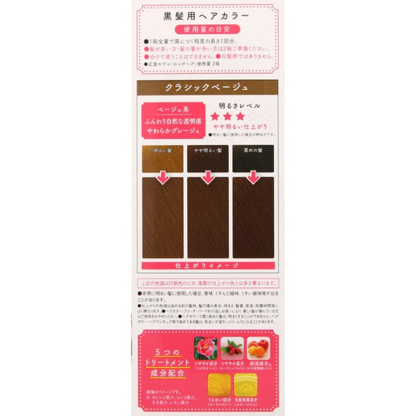 DARIYA Palty Foam Hair Color Kit #Classic Beige