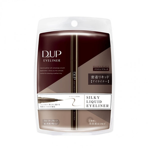D.UP Silky Liquid Eyeliner [Brown Black]