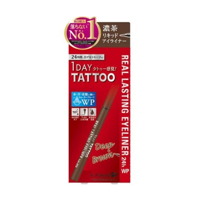 1Day Tattoo Real Lasting Liquid Makeup Eyeliner 24小时持久极细眼线笔