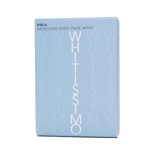 POLA WHITISSIMO Medicated Sheet Pack White 2pc*30pack 日本宝丽维斯祛黑局部美白贴