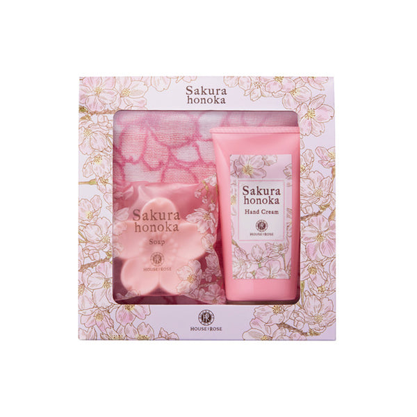 [LIMITED] Sakura honoka Hand Care Set