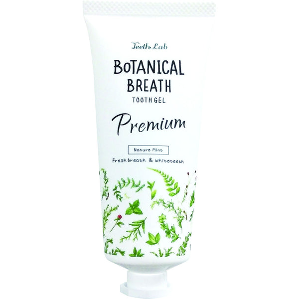 TEETH LAB Botanical Breath Tooth Gel Premium - Nature Mint 60G