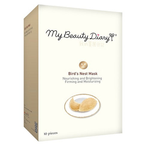 My Beauty Diary Face Masks [Bird's Nest/Apple Polyphenol] (1 box/10pcs) 台湾我的美丽日记面膜