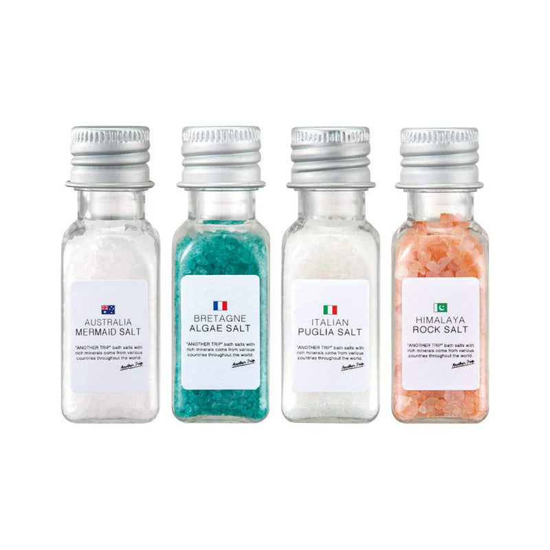 Aroma de Bath Time Bath Salt Selection (4PCS)