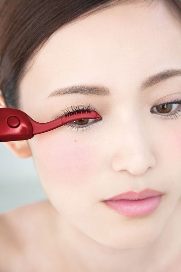 Kai Beauty Care Hot Eyelash Curler [2 Colors] 贝印 电热烫睫毛器 (红色/粉色)