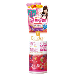 MEISHOKU Detclear Bright and Peel Facial Peeling Gel, Mixed Berry AHA&BHA果酸去角质凝胶混合莓果香