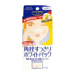 KOSE Softymo Nose Pack White 10pcs