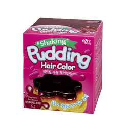 EZN Shaking Pudding Hair Color (#5.6 Raspberry Red Brown)