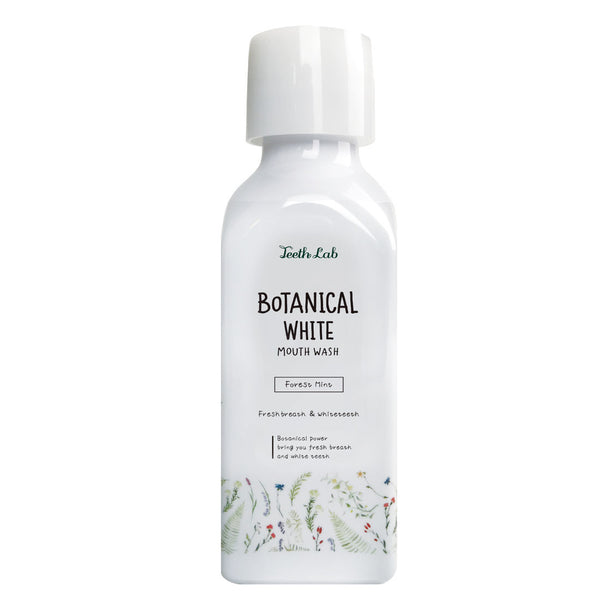 TEETH LAB Botanical Breath Mouth Wash - Forest Mint