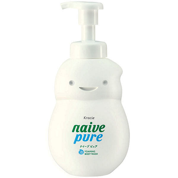 KRACIE Naive Pure Foaming Body Wash 550ml