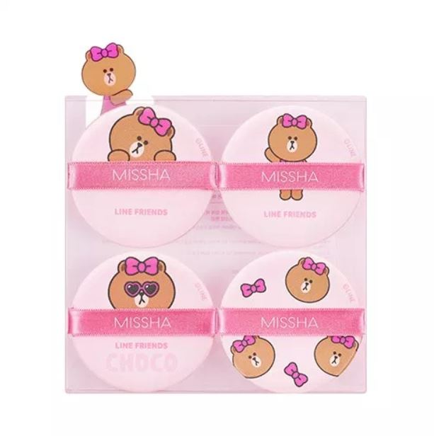 [MISSHA x LINE FRIENDS EDITION] Tension Pact Puff