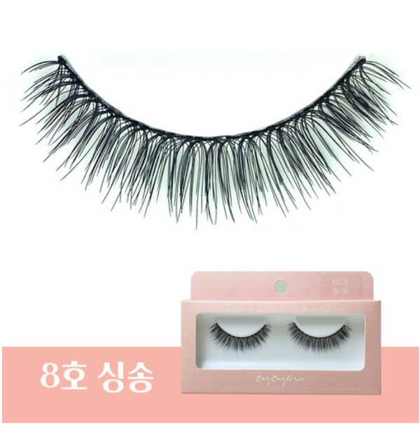 EYE YOU 100% Hand Made Eyelashes (NO.8-Sing Song) 韩国EYE YOU 100%纯手工睫毛 (NO.8-唱歌)