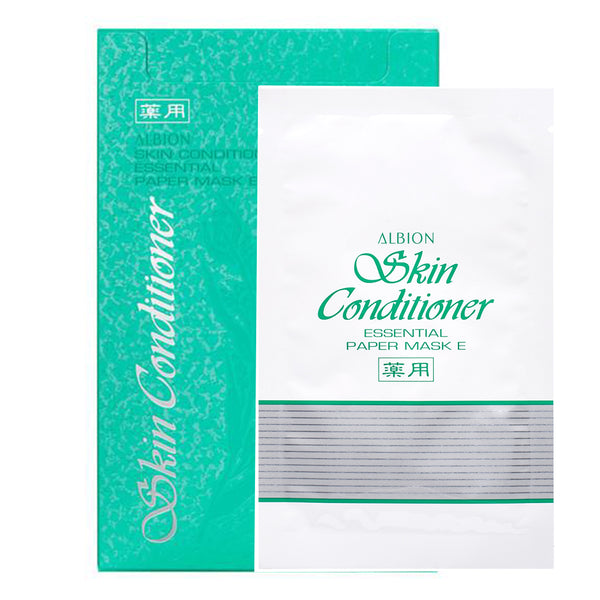 ALBION Skin Conditioner Essential Paper Mask E 爽肤精萃水面膜