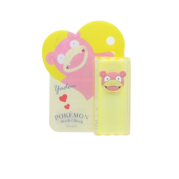 LOVISIA Pokemon Stick Cheek Yadon- Coral Pink 9.5g 日本LOVISIA X 精灵宝可梦腮红膏 (呆呆兽-珊瑚粉)