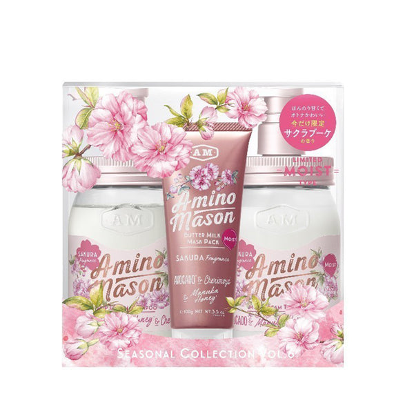 Amino Mason Seasonal Collection Vol. 6 SAKURA Moist - Limited 2020 Set
