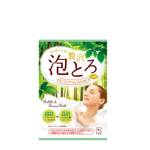 Cow Brand Awatoroyu Bath Additive Healing Forest 30g 美肌舒缓疲劳泡浴粉
