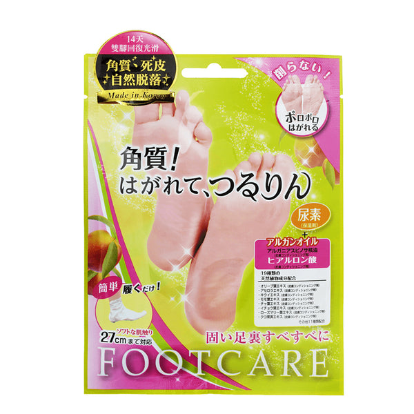 Lucky Trendy Foot Care Mask 18ml x 1 pair 滋润保湿去角质足膜