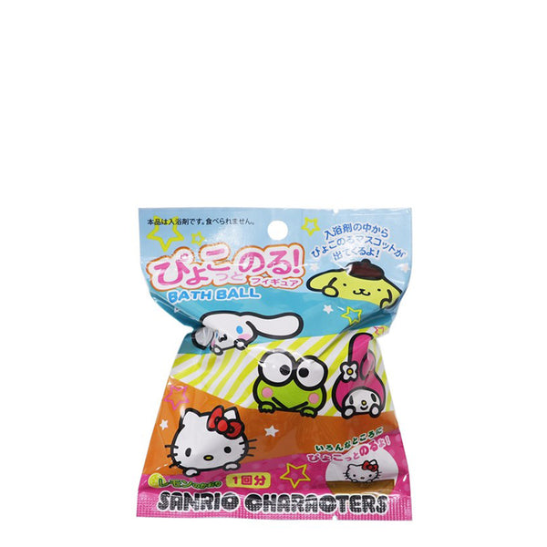 Sanrio Characters Bubble Bath 1pc 可爱卡通人物泡泡浴球