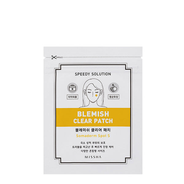 Missha Speedy Solution Blemish Clear Patch 1 Sheet/24 Patches 迷尚 痘痘粉刺消炎护理贴