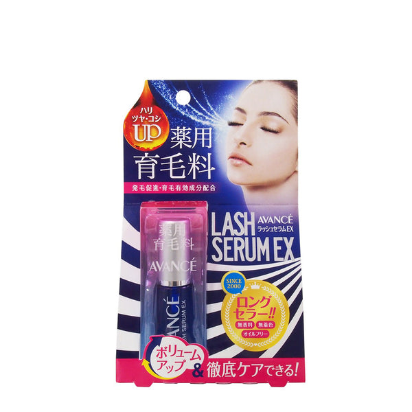 Avance Lash Serum EX 7ml 1pc 日本AVANCE 睫毛滋养美容液