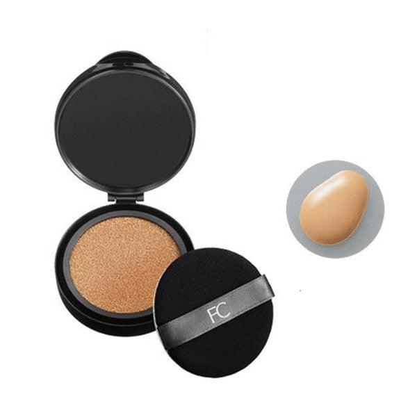 Fancl BB Cover Cushion SPF50 Refill #12 Medium with Case 芳珂 五合一气垫BB霜SPF50+ 補充蕊芯装附粉盒 (12号自然色)