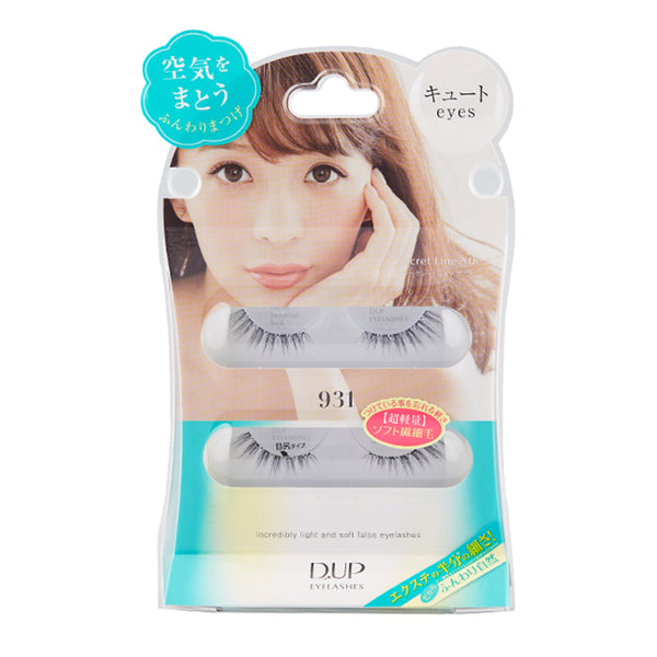 D.UP Eyelash Secret Line Air Series 931 Cute 日本DUP 假睫毛