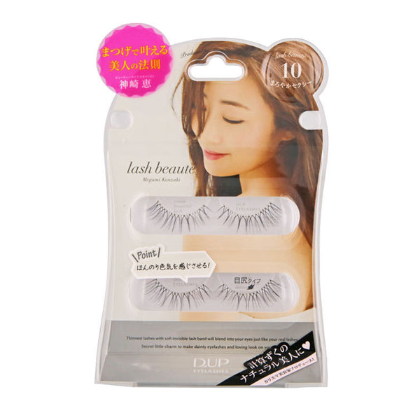 D.UP EYELASHES lash beauté series #10 Mellow Sexy 日本  系列假睫毛