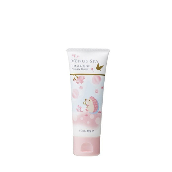 FITS Venus Spa Sakura Hand Cream Limited Primary Bloom 60g 日本FITS Venus Spa香水保湿滋润护手霜 限定刺猬樱花香