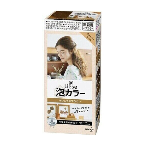 Kao Liese Prettia Bubble Hair Color # Marshmallow Brown  日本花王 泡泡染发剂-棉花糖棕色