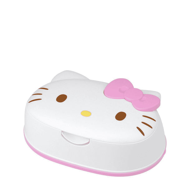 Lec Hello Kitty Wet Wipes With Case 80sheets  三丽鸥  吉蒂猫造型湿纸巾盒