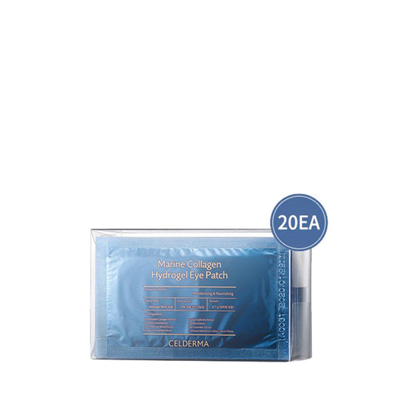 Celderma Marina Collagen Hydrogel Eye Patch (20pcs/box) 希肤魅 海洋胶原水凝胶眼膜 20片/盒