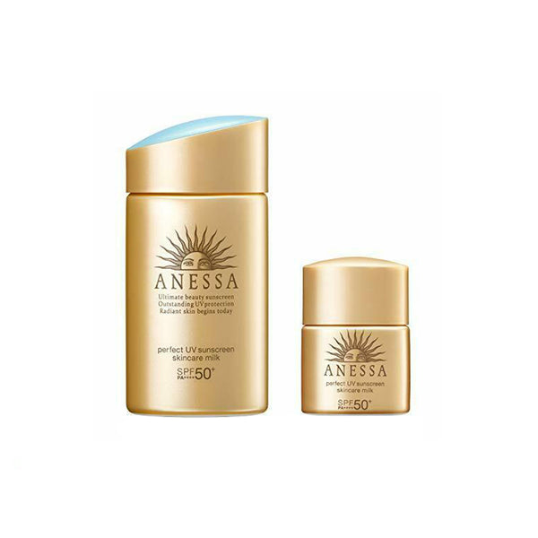 Shiseido Anessa UV Sunscreen Milk 60ml+10ml