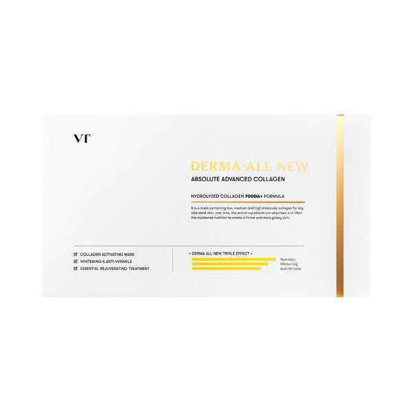 VT Derma All New Absolute Advanced Collagen Mask 4pcs