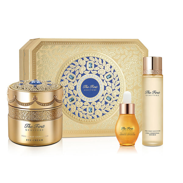 O HUI The First Geniture Eye Cream Blue Edition Limited Set