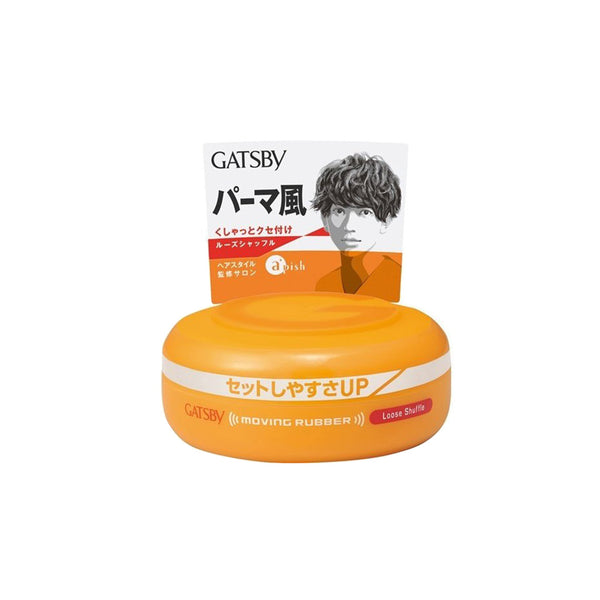 GATSBY Moving Rubber Loose Shuffle Hair Styling Wax 80g