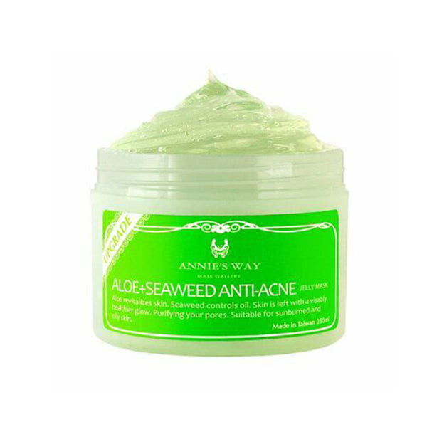Annie's Way Aloe + Seaweed Anti-Acne Jelly Mask 250ml