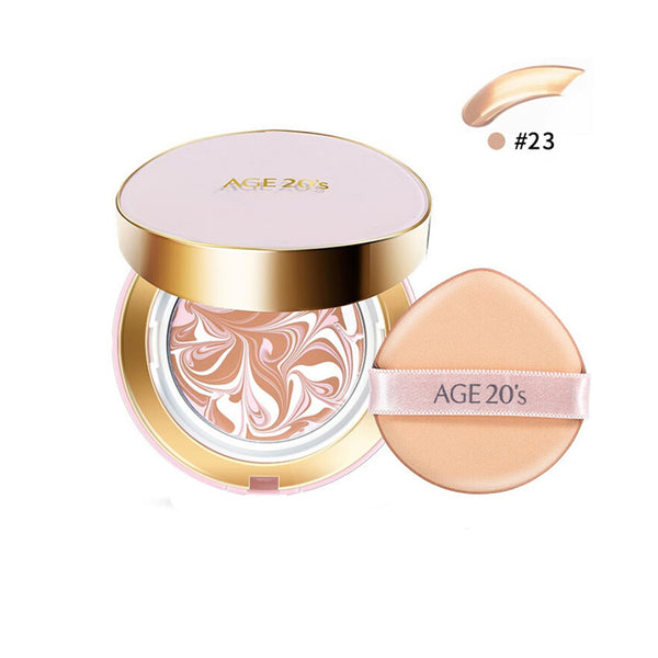 AGE 20'S Signature Essence Cover Pact (Moisture) #23 Medium Beige
