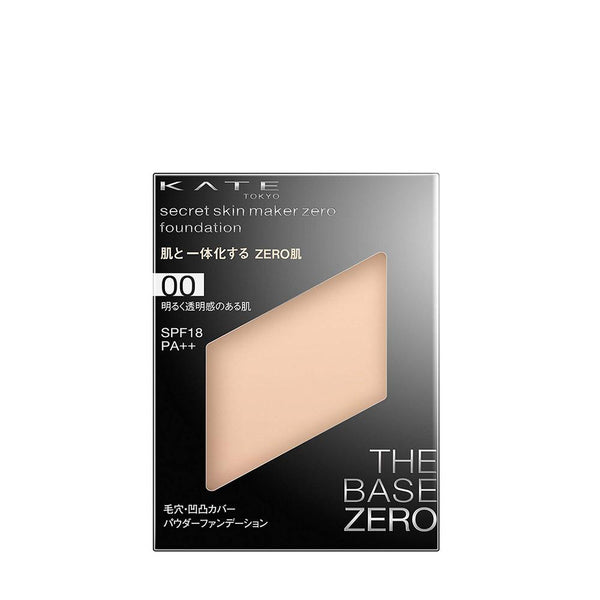 KANEBO Kate Secret Skin Maker Zero Foundation REFILL / Case Separate [4 Colors]  零瑕肌密粉餅