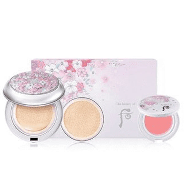 WHOO Gongjinhyang:Seol White Moisture Cushion Foundation Special Set #21