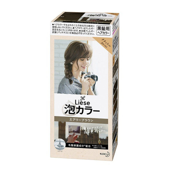 KAO Liese Prettia Bubble Color- Airy Brown