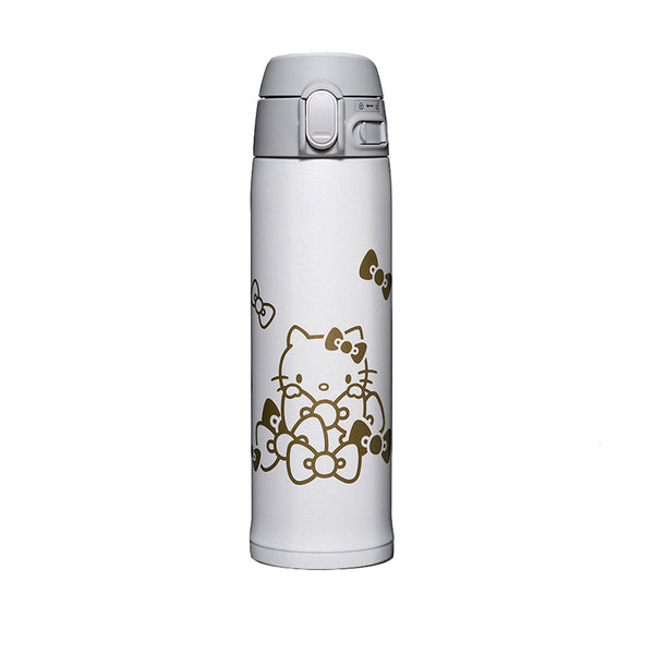 ZOJIRUSHI SM-TA48KTBA Hello Kitty Stainless Mug, 16oz (0.48L) White