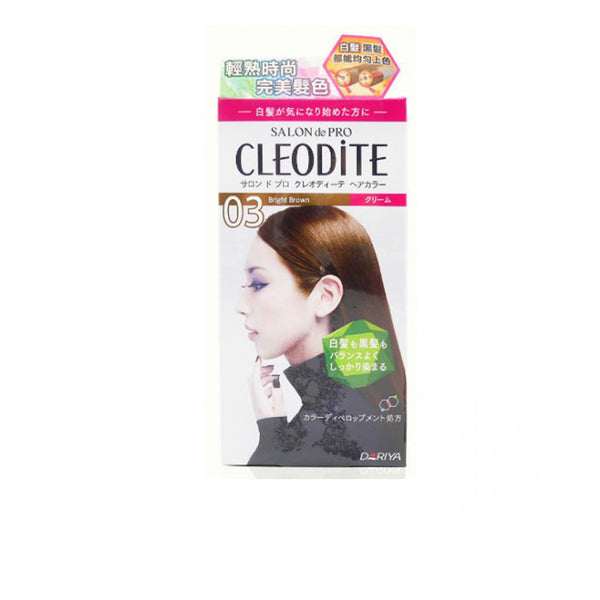 Dariya Salon De Pro Cleodite Hair Color Cream 03 Bright Brown