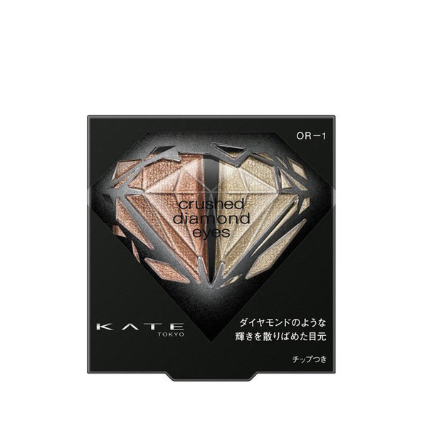 Kanebo Kate Crushed Diamond Eyes Duo Eyeshadow 2.2g [4 Types] 新品 璀鑽幻光眼影盒
