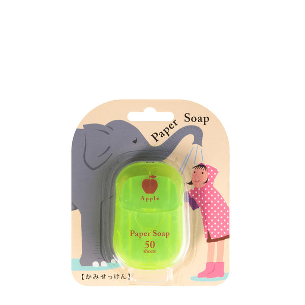 CHARLEY Paper Soap Apple 50pcs 日本CHARLEY 肥皂纸香皂(苹果味)