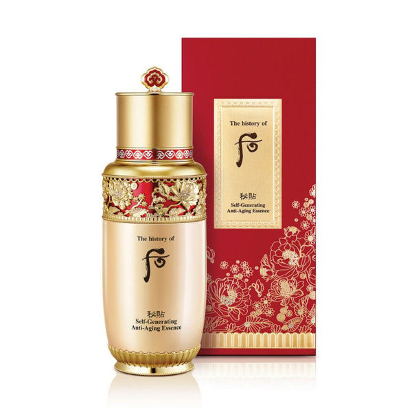 WHOO Bichup Self-Generating Anti-Aging Essence 90ml [Red] 后 秘贴抗皱再生精华单支套盒-限定款