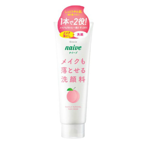 Kracie Naive Makeup Cleansing Foam [3 Scents]